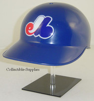 Montreal Expos Rawlings All Blue Throwback Full Size Baseball Batting Helmet