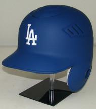 Los Angeles Dodgers MATTE BLUE Rawlings Coolflo LEC Full Size Baseball Batting Helmet