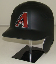 Arizona Diamondbacks Matte Black Rawlings LEC Full Size Baseball Batting Helmet