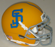 San Jose State Spartans Alternate Gold Schutt Mini Authentic Football Helmet