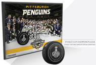 2016 Pittsburgh Penguins Stanley Cup Champions Wall Plaque