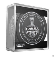 2016 NHL Stanley Cup Finals Playoff Sherwood Official Game Puck - Game 1 (One)