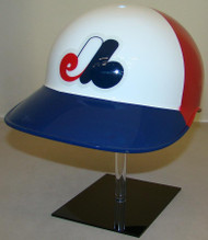 Montreal Expos Rawlings 3 Color Throwback Full Size Baseball Batting Helmet