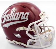 Indiana Hoosiers Alternate Script NCAA Riddell SPEED Mini Helmet