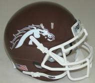 Western Michigan Broncos Alternate Brown Schutt Mini Authentic Helmet
