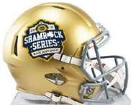 Notre Dame Fighting Irish Special 2016 San Antonio Shamrock Series NCAA Riddell Speed Mini Helmet
