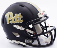 Pittsburgh Panthers (Pitt) Matte Navy Revolution SPEED Mini Helmet