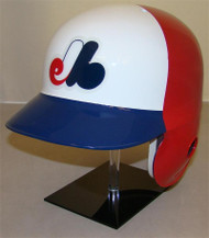 Montreal Expos Rawlings 3 Color Throwback LEC Full Size Baseball Batting Helmet
