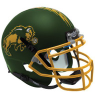 North Dakota State Bison Green Schutt XP Full Size Replica Helmet