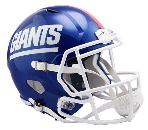 sports shoes 2d8e8 4493d New York Giants 1981-99 Retro Color Rush SPEED Riddell Full Size Replica  Helmet