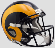 Los Angeles Rams 1981-99 Retro Color Rush SPEED Riddell Full Size Replica Helmet