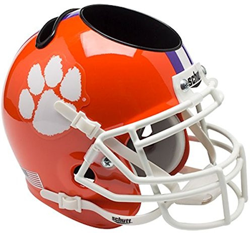 Clemson Tigers Mini Helmet Desk Caddy by Schutt