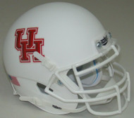 Houston Cougars Alternate White Schutt Mini Authentic Football Helmet