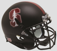 Stanford Cardinal 2015 Alternate Black Tree Schutt Full Size Replica Helmet