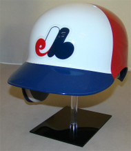Montreal Expos Rawlings 3 Color Throwback REC Full Size Baseball Batting Helmet