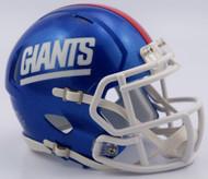 New York Giants 2016 Color Rush 1981-99 Retro Revolution SPEED Mini Helmet