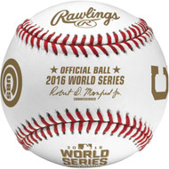 Cleveland Indians vs. Chicago Cubs Rawlings 2016 World Series Bound Dueling Baseball in Cube
