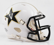 Vanderbilt Commodores Alternate White NCAA Revolution SPEED Mini Helmet