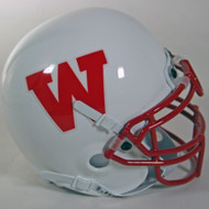 Wisconsin Badgers 1988-89 Schutt Throwback Mini Authentic Helmet