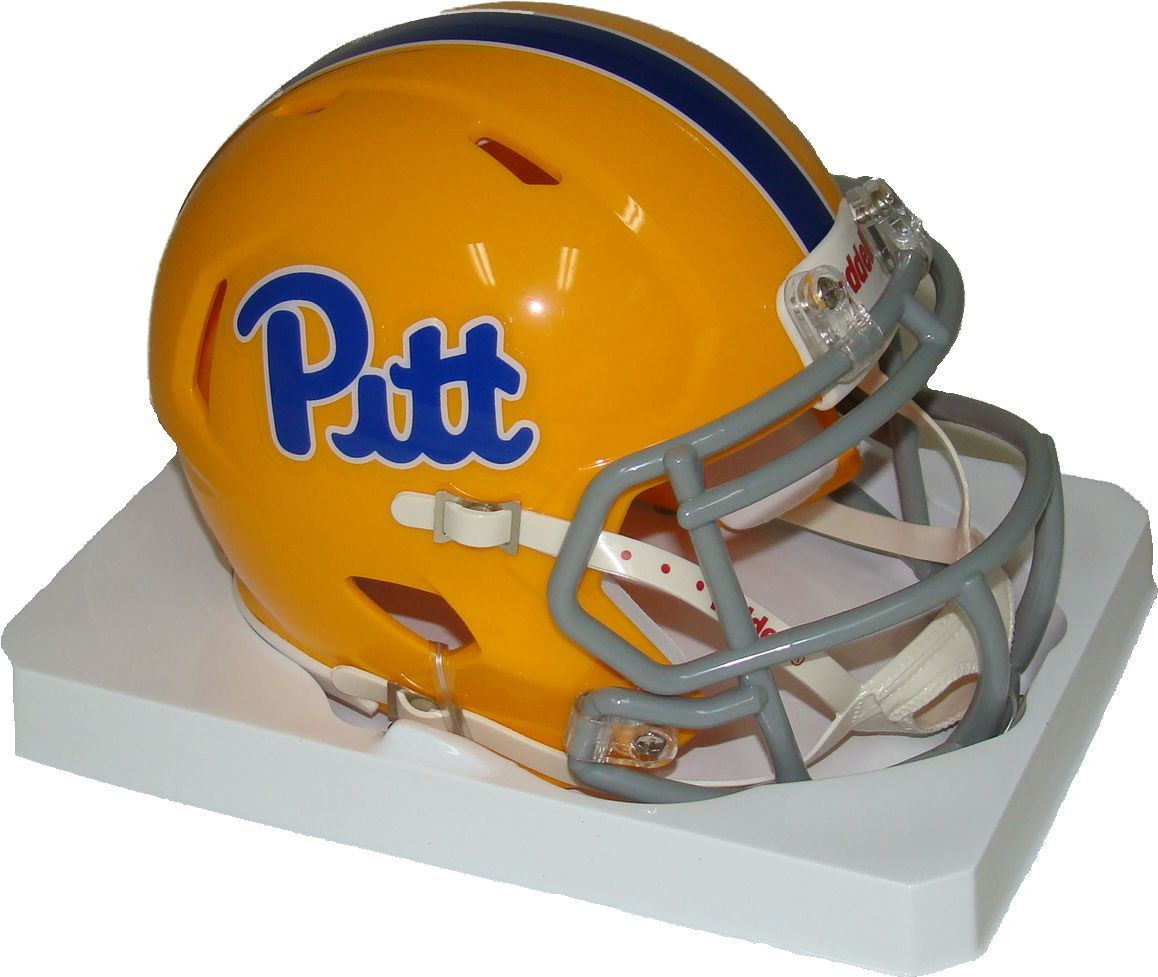 hot sale online 941e6 2adcc Pittsburgh Panthers (Pitt) Throwback Revolution SPEED Mini Helmet