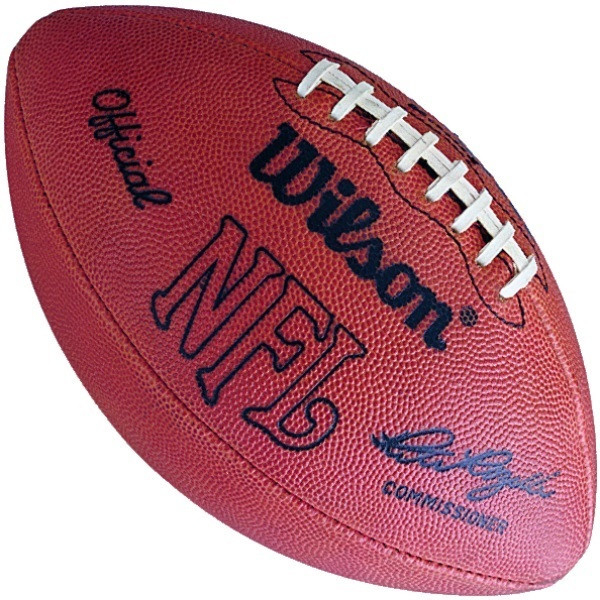 Pete Rozelle Wilson Official Nfl Leather Game Ball F1006 Football