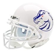 Boise State Broncos New 2011 Logo Schutt White Mini Authentic Helmet