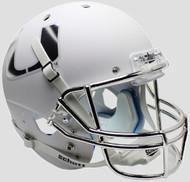 Miami Hurricanes Alternate White Chrome Schutt Full Size Replica Helmet