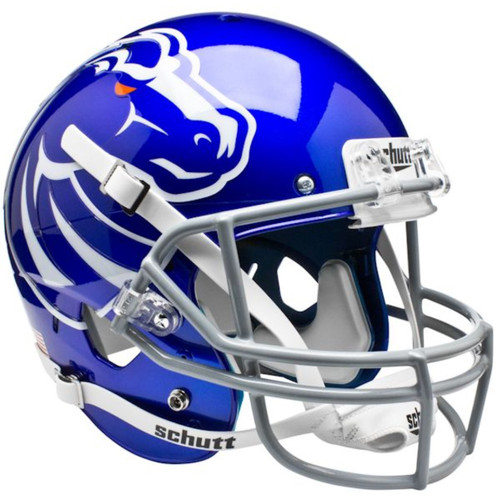 Boise State Broncos New 2011 Logo Schutt Blue Full Size Replica XP Football Helmet