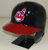 Cleveland Indians Chief Wahoo Home Rawlings Coolflo LEC Full Size Baseball Batting Helmet