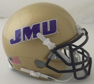 James Madison Dukes Schutt Mini Authentic Helmet