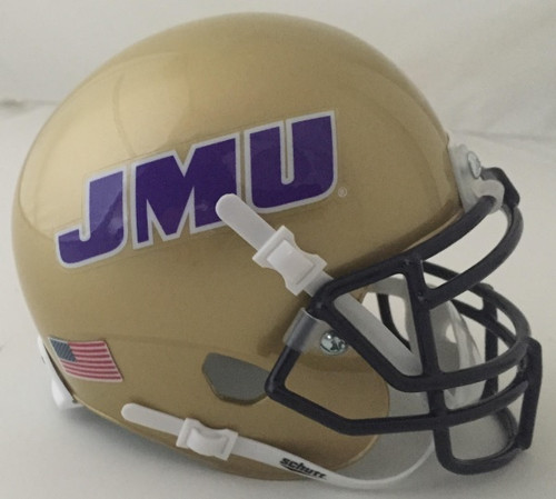 James Madison Dukes Schutt Mini Authentic Football Helmet