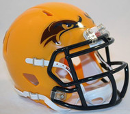 Kent State Golden Flashes Alternate Yellow NCAA Revolution SPEED Mini Helmet
