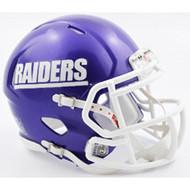 Mount Union Purple Raiders NCAA Mini Speed Football Helmet NEW 2016