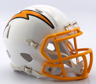 NFL Los Angeles Chargers Color Rush Revolution Speed Mini Helmet