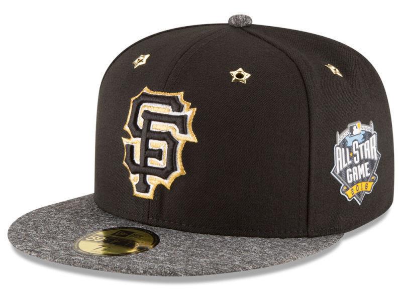 9fe255641dd Men s San Francisco Giants New Era 2016 MLB All-Star Game Patch 59FIFTY Hat  Cap. New Era. Image 1