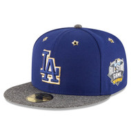 Men's Los Angeles Dodgers New Era 2016 MLB All-Star Game Patch 59FIFTY Hat / Cap