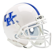 Kentucky Wildcats White Schutt Mini Authentic Helmet