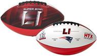 Super Bowl LI 51 Official Size New England Patriots Championship Football