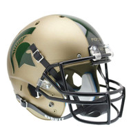 Michigan State Spartans Gold Combat Schutt Full Size Replica XP Football Helmet