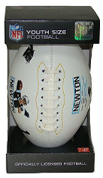 Cam Newton NFL Carolina Panthers Youth Size Autograph Football