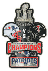 Super Bowl LI (51) Commemorative Lapel Pin