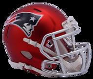 New England Patriots Riddell Speed Mini Helmet - Blaze Alternate