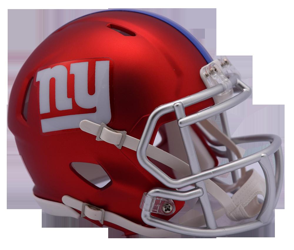 4524976815b New York Giants Riddell Speed Mini Helmet - Blaze Alternate. Riddell. Image  1