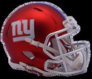 New York Giants Riddell Speed Mini Helmet - Blaze Alternate