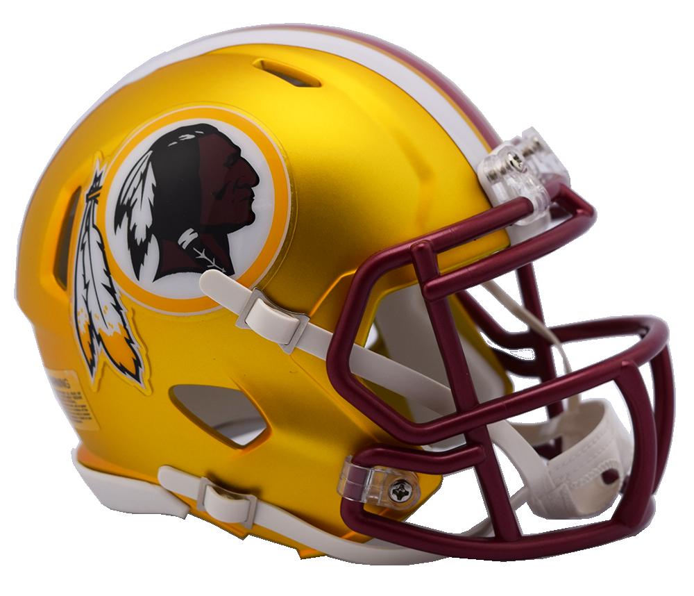 941dbadd014 Washington Redskins Riddell Speed Mini Helmet - Blaze Alternate. Riddell.  Image 1