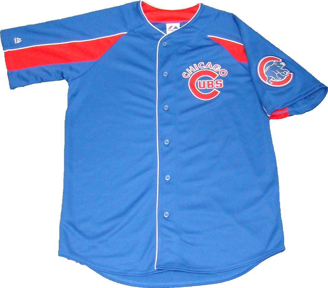 f4b2e808a9c ... italy chicago cubs blue majestic mlb mens official jersey. majestic  athletic image 1 21396 3ef52