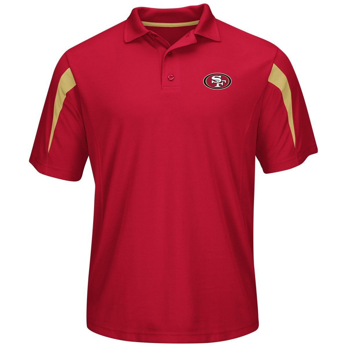 best loved 89487 d0930 San Francisco 49ers Red Field Classic Synthetic Men's Polo Shirt