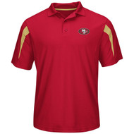 San Francisco 49ers Red Field Classic Synthetic Men's Polo Shirt