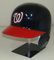 Washington Nationals Navy/Red Rawlings Classic LEC Full Size Baseball Batting Helmet
