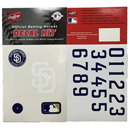 San Diego Padres Batting Helmet Rawlings Decal Kit -1